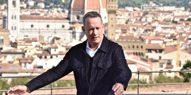 Tom Hanks al cinema in Inferno di Dan Brown