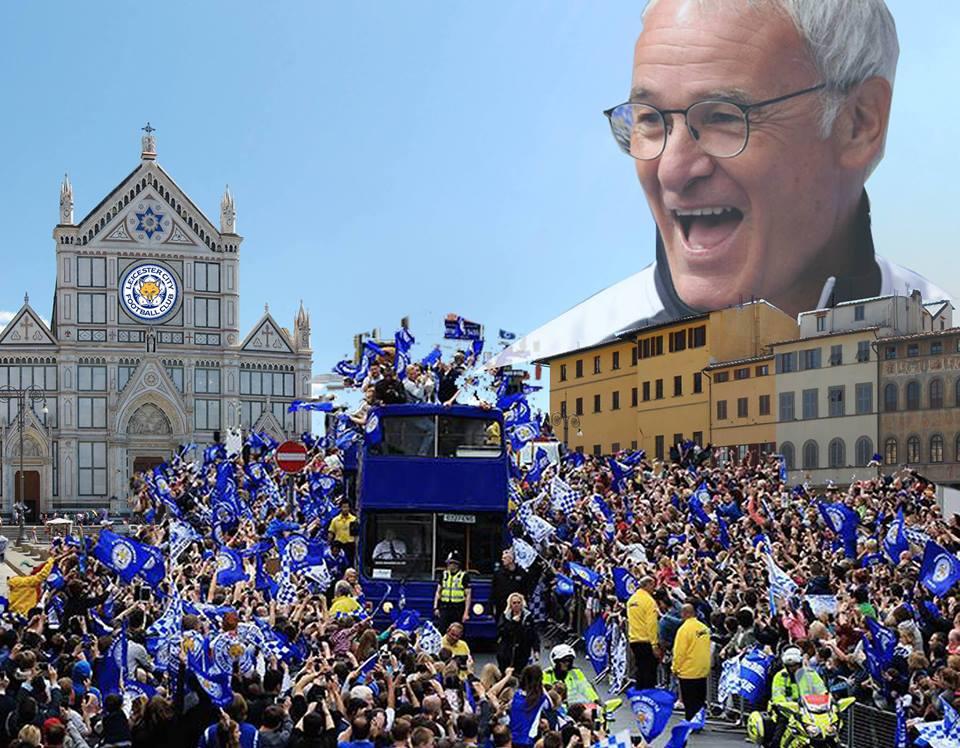 Non è uno scherzo: festa Scudetto Leicester a Firenze. Qualcuno vuole fermare tutto, il motivo…