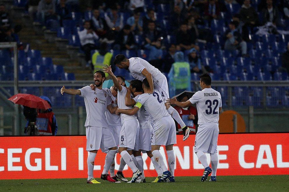 Orgoglio viola: 2 a 4 alla Lazio, Berna top e 64 punti