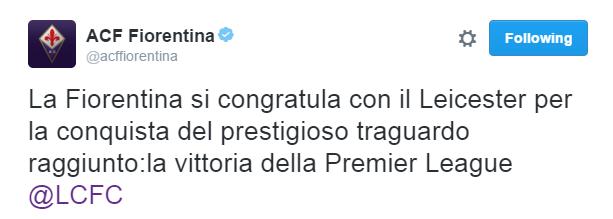Fiorentina zimbello per il tweet sul Benevento. Ma le cause del ritardo sono due…