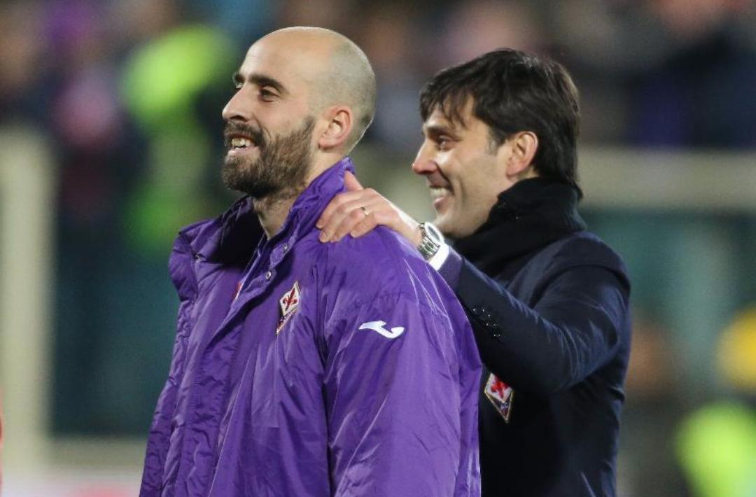 Montella chiama Borja Valero, lo vuole al Milan. Trattativa quasi impossibile