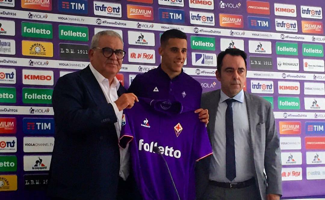 """Tello: """"Non ho avuto dubbi a scegliere la Fiorentina, Borja vuole restare"""""""