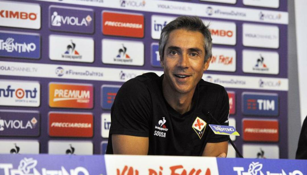 """Sousa: """"Kalinic resta alla Fiorentina, Rossi ha l'accordo con il Celta Vigo. Borja gioca domani, Gonzalo…"""""""