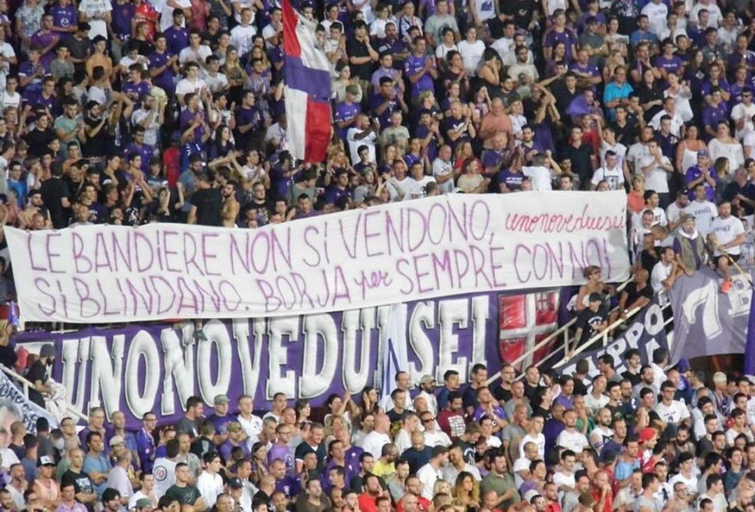 """Borja ringrazia la Fiesole: """"È questo il motivo per cui amo la Fiorentina"""""""