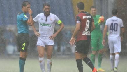 Rebus recupero Genoa-Fiorentina: Dicembre, o addirittura Gennaio? Oggi la decisione