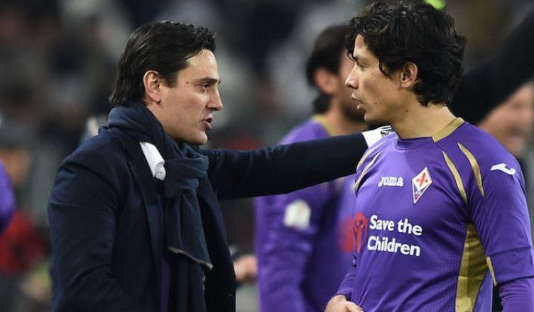 """Montella: """"Orgoglioso e sorpreso del Siviglia. Quando l'abbiamo incontrata contro la Fiorentina in panchina…"""""""
