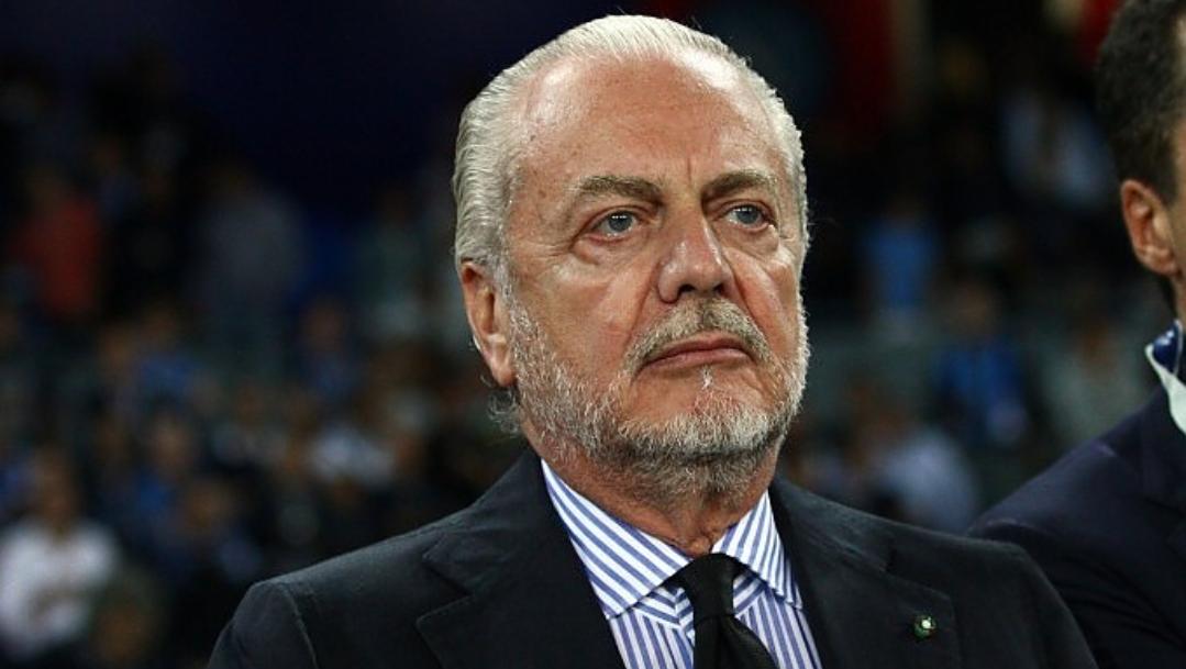 """De Laurentiis: """"Dal San Paolo non si vede nulla, meglio vedere la partita al televisore. Pochi abbonati? Meglio cosi"""""""