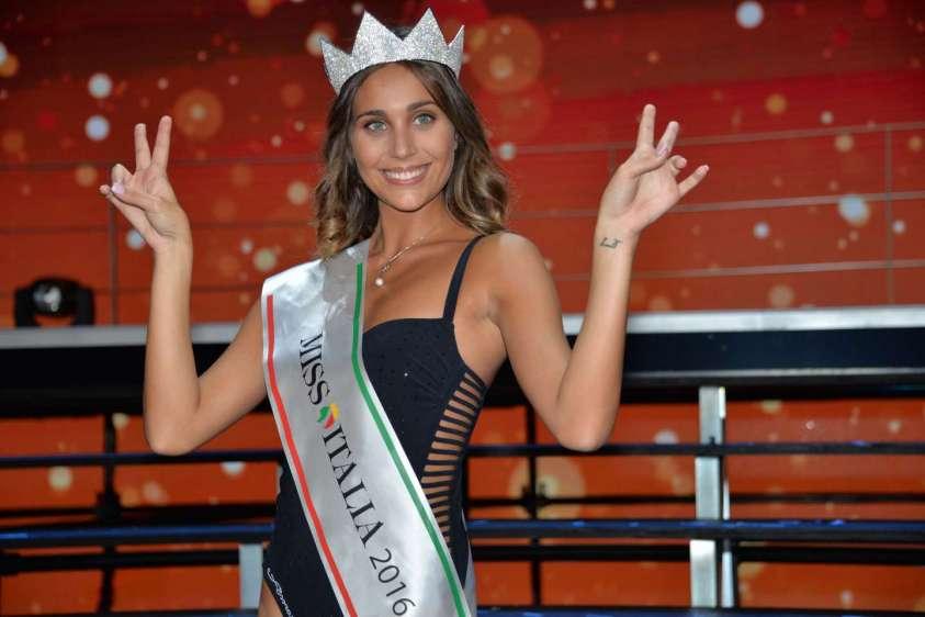 """Miss Italia: """"Cresciuta con Toni e Mutu, oggi mi esaltano Berna e Gonzalo"""""""