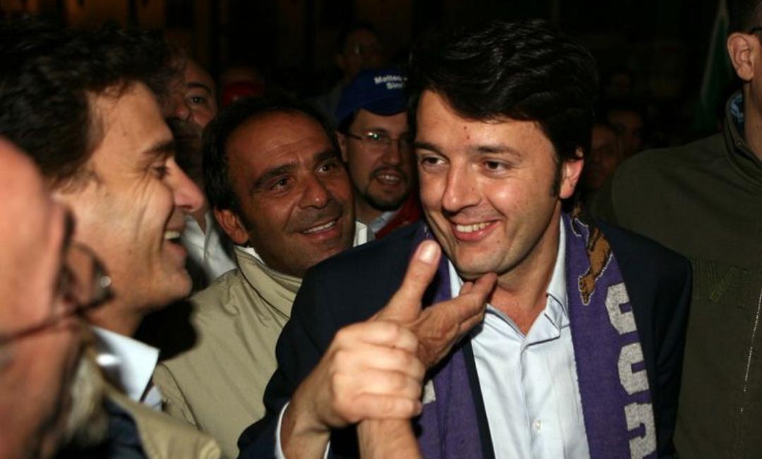 """Renzi: """"Batistuta ci ha fatto esultare e godere in ogni stadio, è stata una bandiera della Fiorentina"""""""