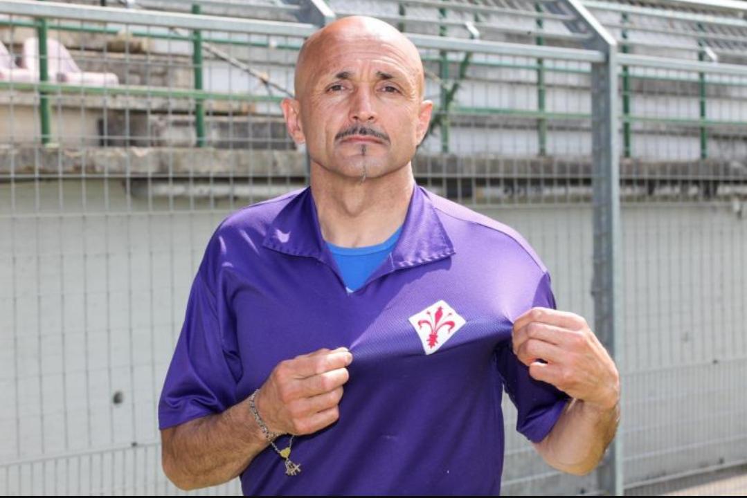 """Spalletti e quella sua passione viola: """"Tifava Fiorentina e da bambino bisticciava con il fratello juventino"""""""
