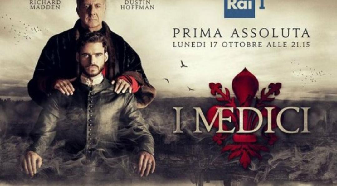 La storia di Firenze e dei Medici fa il botto in televisione, 30% di share e quasi 8 milioni di telespettatori