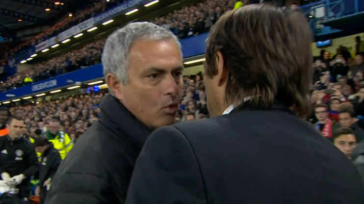 Conte umilia Mourinho (4-0) che non la prende bene e reagisce così…