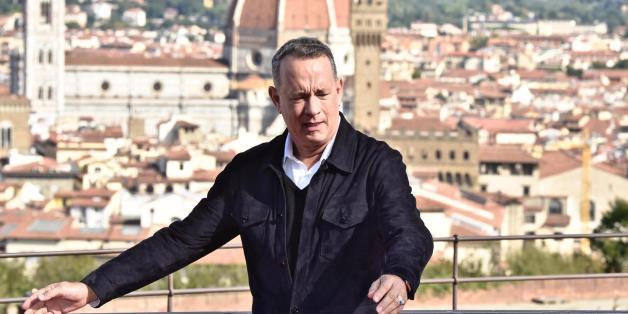 """Tom Hanks: """"Firenze è una meraviglia, uno splendore, mai visto niente del genere"""""""