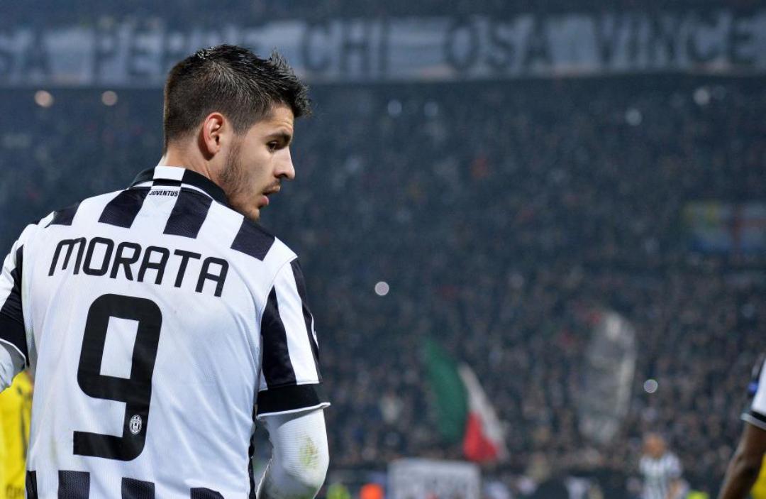 """Morata: """"Chiellini squalificato? Non cambia molto, c'è Astori che è molto bravo e forte fisicamente"""""""