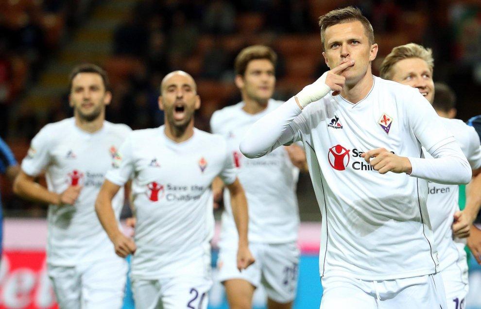 """Ilicic: """"Possiamo andare in Champions, voglio giocarla con la maglia della Fiorentina"""""""