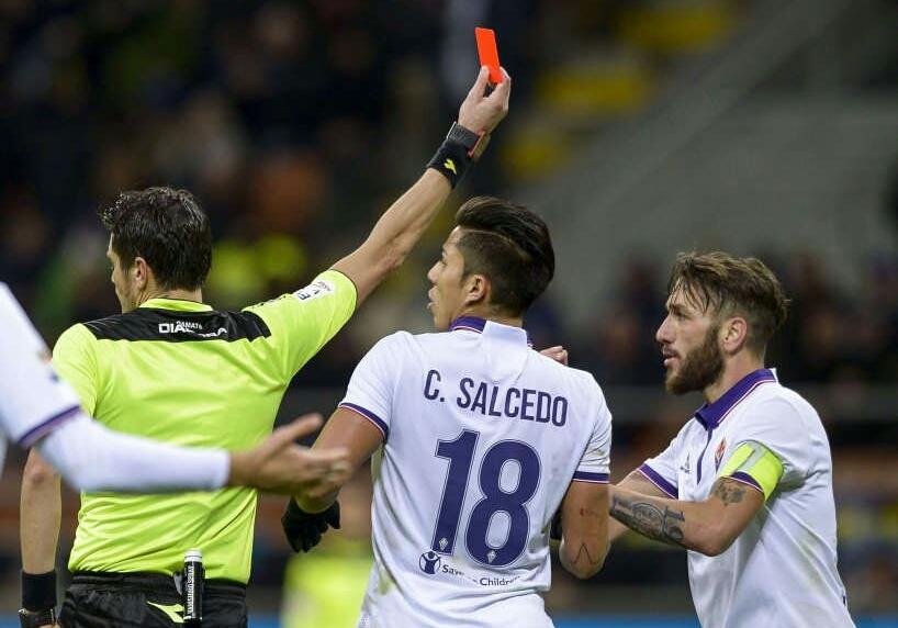 Dalla mancata espulsione di Ranocchia al rigore non fischiato. Le cinque gravi accuse della Fiorentina a Damato