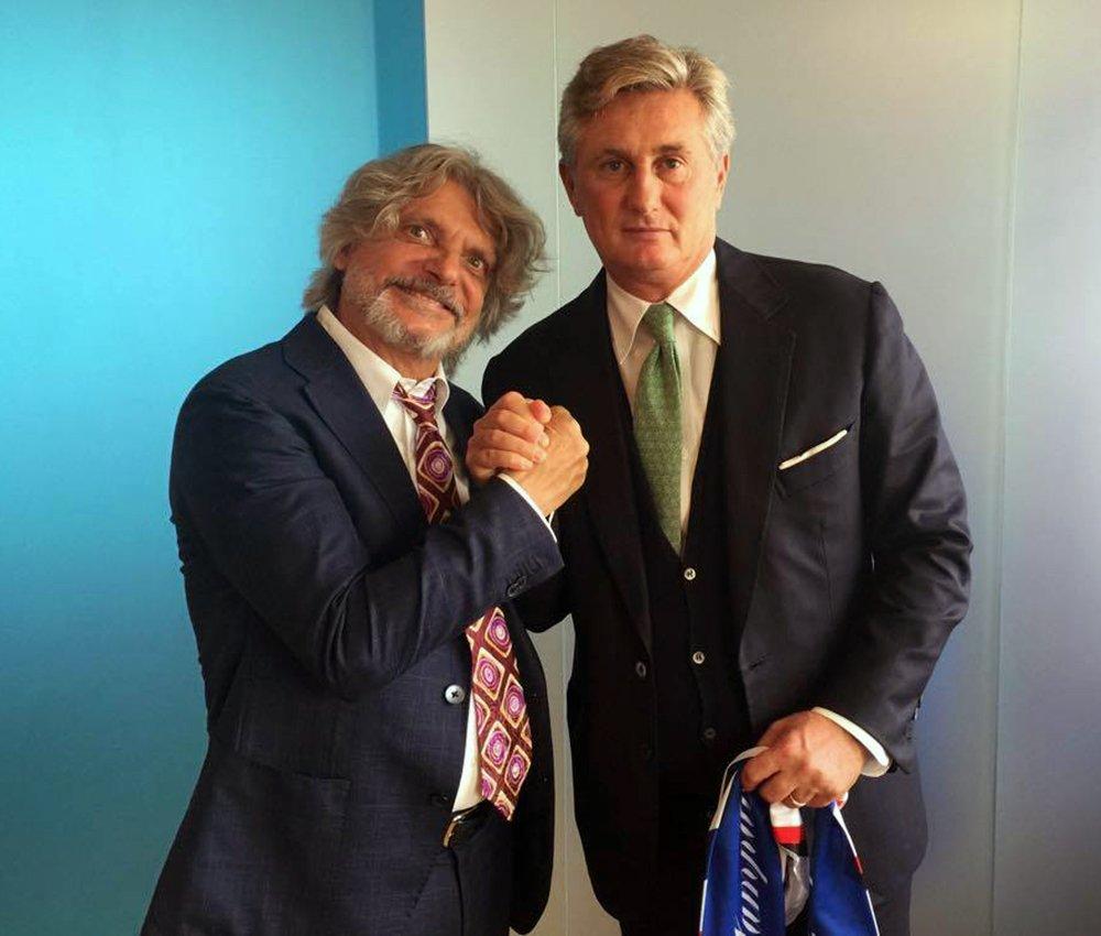 """Ferrero: """"Ho passato una settimana a convincere i Della Valle per Montella. Ecco perchè Ilicic ha scelto l'Atalanta"""""""
