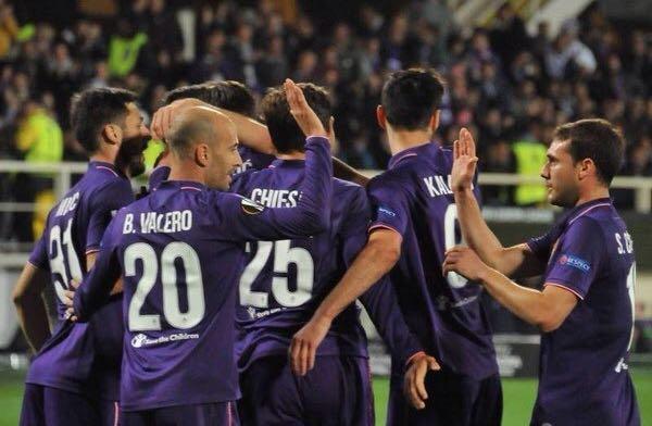 Tre schiaffi allo Slovan, la viola vince e convince (3-0)