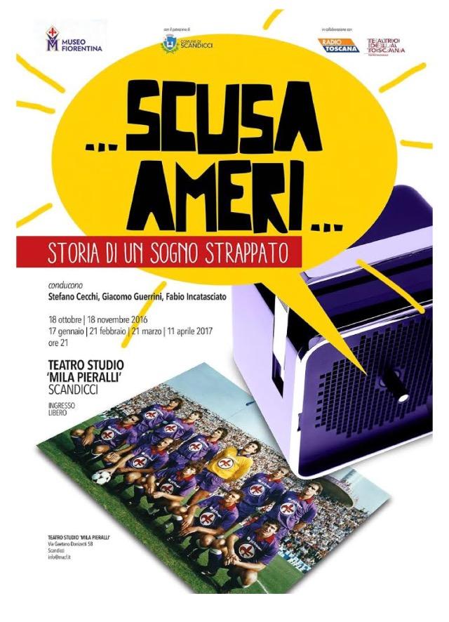 """""""Storia di un sogno sfumato"""" stasera ore 21.00 presso Scandicci. Un evento de il """"Museo Fiorentina"""""""