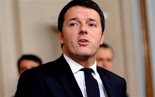 """Renzi: """"Vorrei vedere la Fiorentina in testa alla classifica"""", poi la gaffe…"""