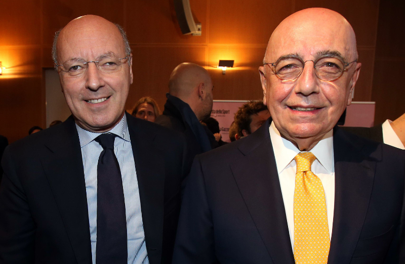 """Marotta (Juventus): """"Galliani deve essere il prossimo presidente della Lega, è il migliore"""""""