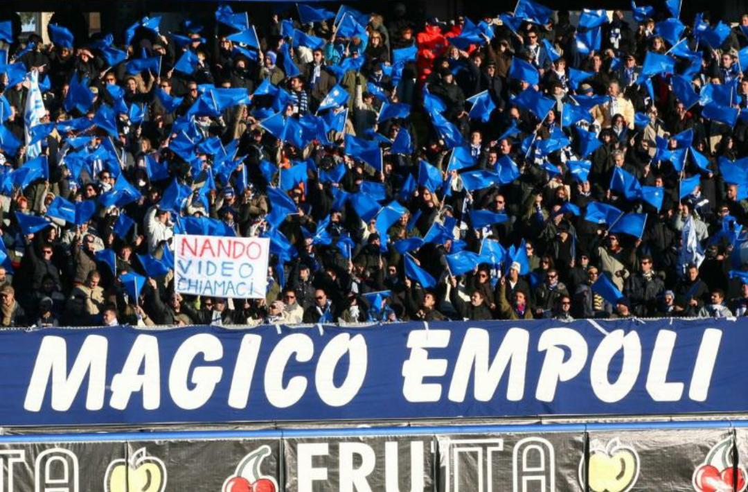 """Da Empoli: """"Se per voi non un derby perché pagate i biglietti al posto dei tifosi?"""""""