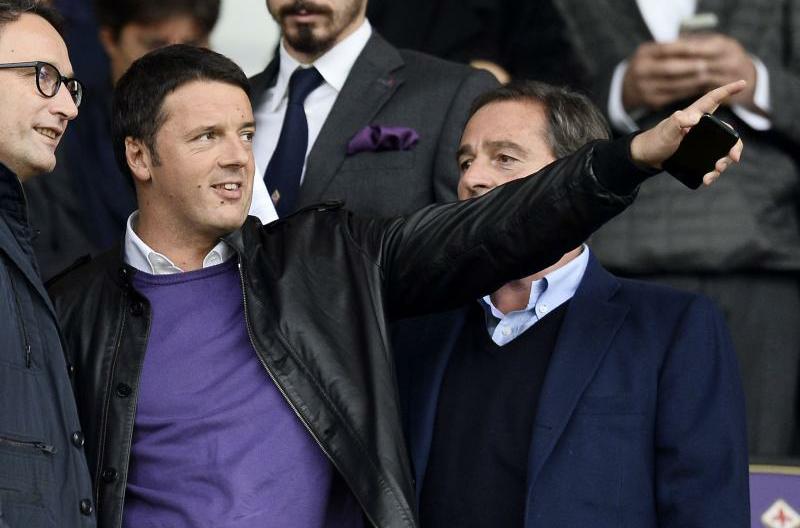"""Renzi: """"Bernardeschi deve diventare il simbolo della squadra. Conta la Fiorentina, non Paulo Sousa"""""""