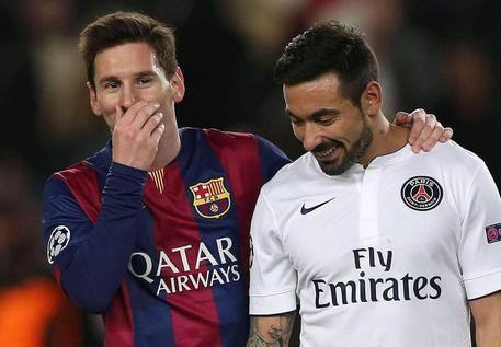 """Lavezzi accusato di fumare Marijuana, interviene Messi: """"Basta falsità sull'Argentina"""""""