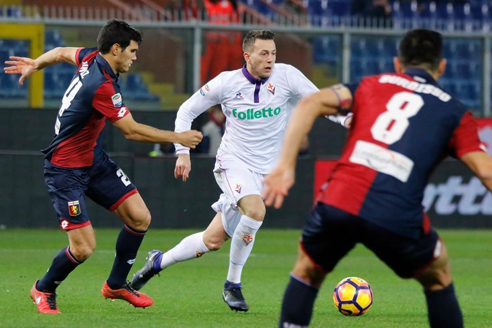 Chance gettata via, Lazovic punisce Sousa: 1 a 0 Genoa
