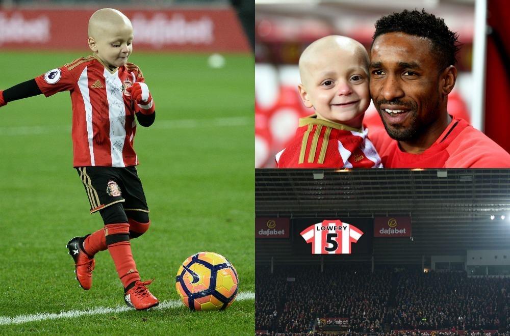 Bradley, 5 anni un tumore e pochi mesi di vita: ieri sera un goal per la speranza