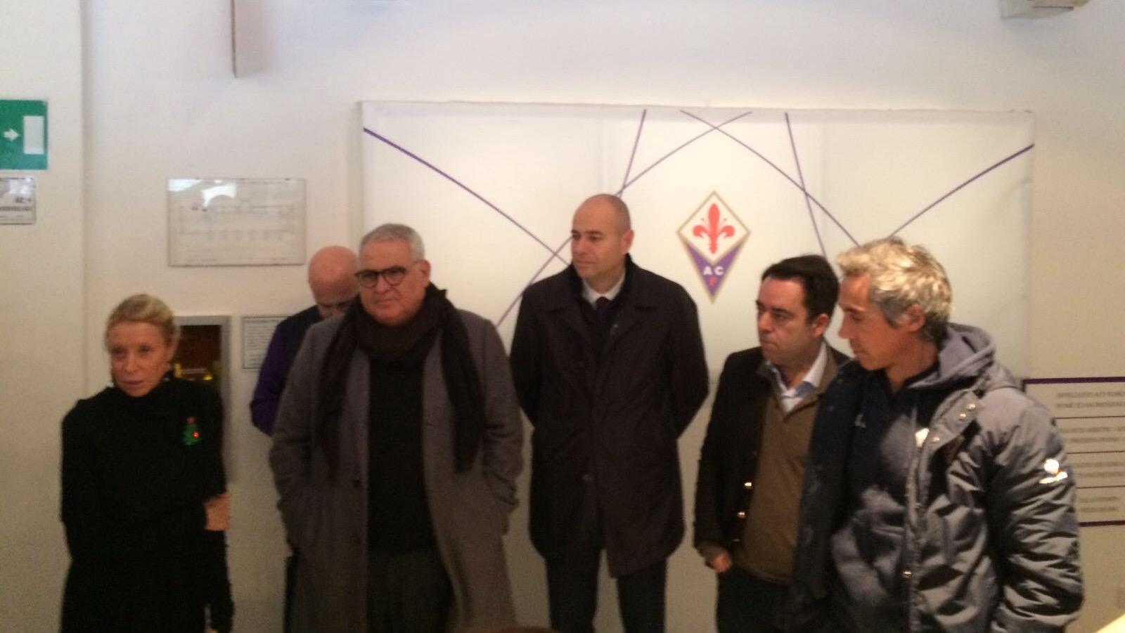 """Gli auguri della Fiorentina alla stampa: """"Società in crescita, auguri alle famiglie"""""""