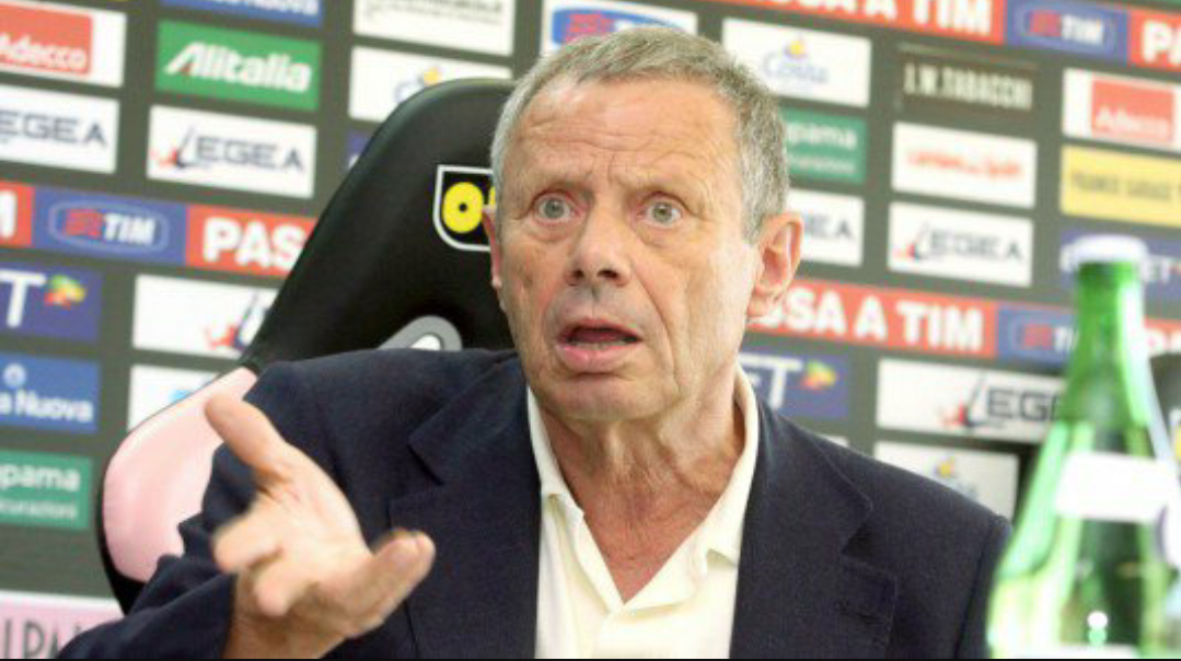 """Zamparini: """"Derubati a Firenze, la Fiorentina è il potente che nemmeno fa mostrare in tv le immagini"""""""