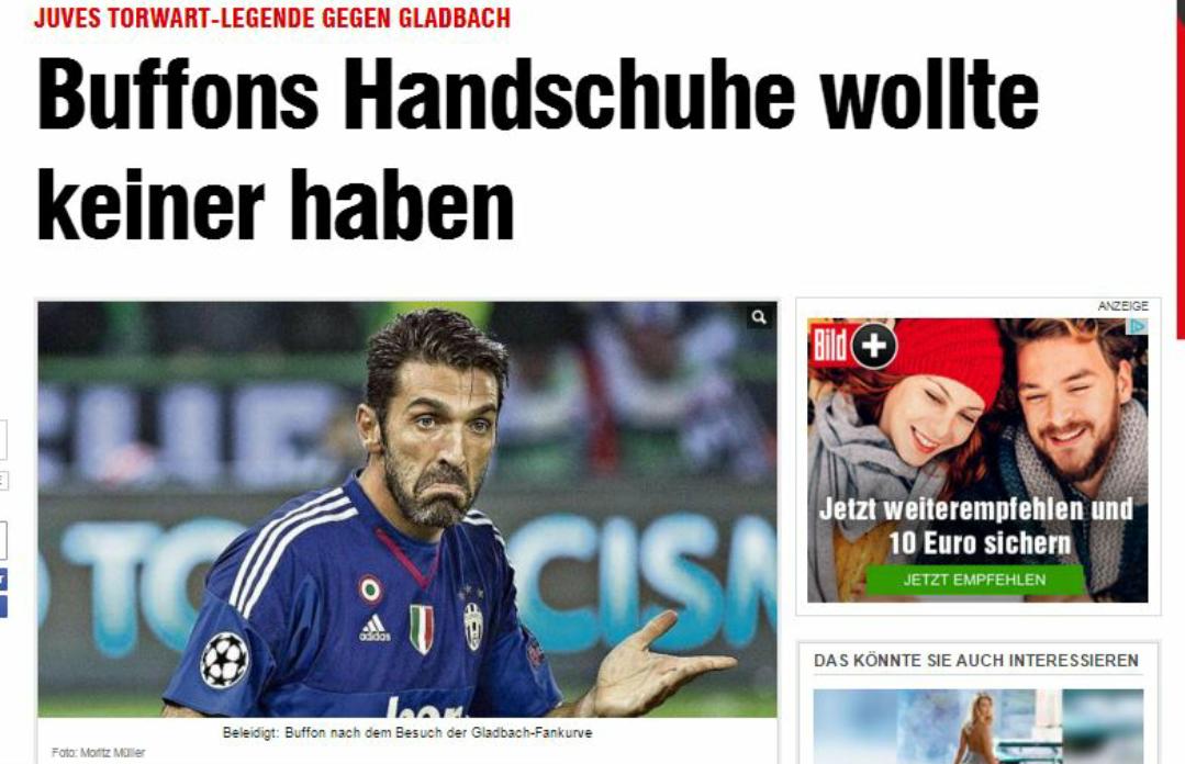 Il Borussia ha il suo tifoso speciale. Si tratta di Gigi Buffon. Il motivo…