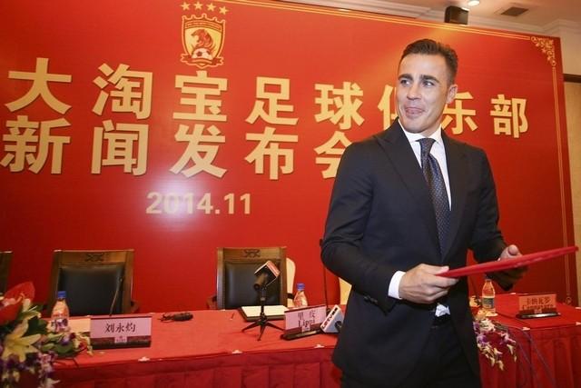 """Cannavaro: """"Kalinic era la mia prima scelta, ma per tanti motivi la trattativa è saltata…"""""""