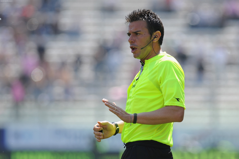 Per Fiorentina-Chievo c'è Celi. Posado e Valeriani gli assistenti