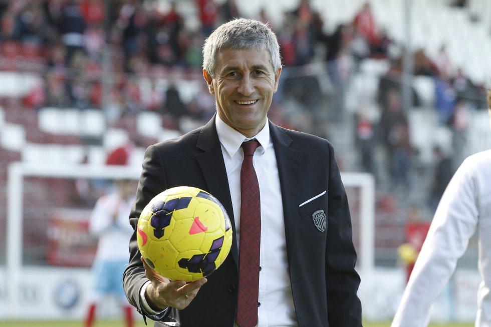 """Setién (Las Palmas): """"Stiamo trattando Toledo e Calleri, hanno le caratteristiche giuste per noi"""""""