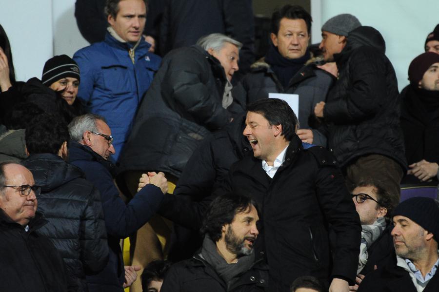 """Renzi: """"Non ho nessun dubbio, la Fiorentina farà un grande campionato"""""""