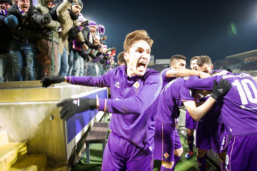 Un lungo contratto e la voglia di diventare la nuova bandiera della Fiorentina. Chiesa è il futuro viola