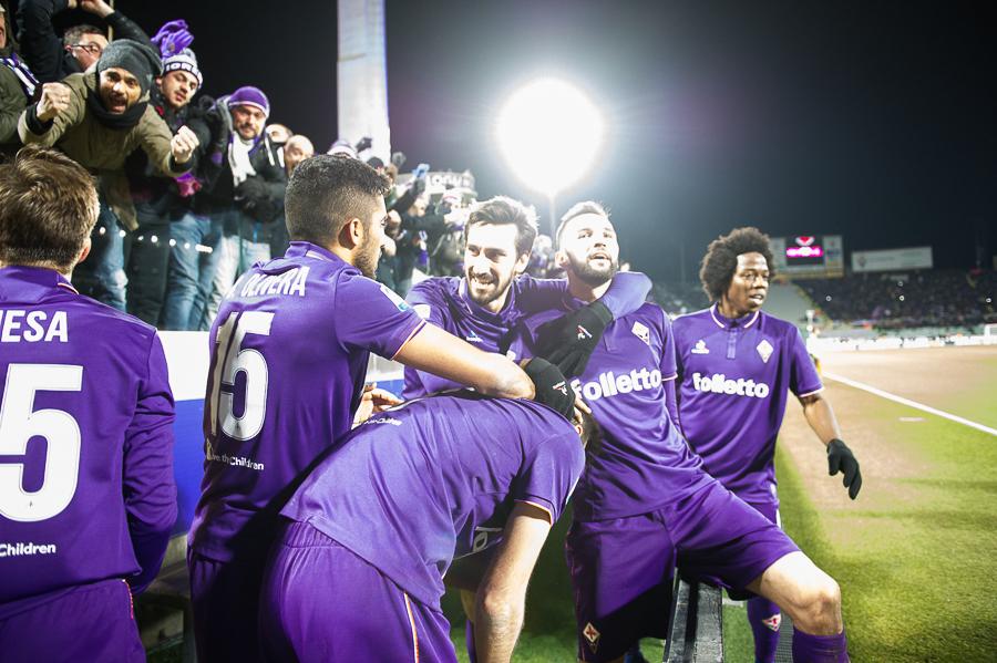 """Adesso l'Europa League dista """"solo"""" quattro punti. E con l'Inter c'è lo scontro diretto a Firenze"""