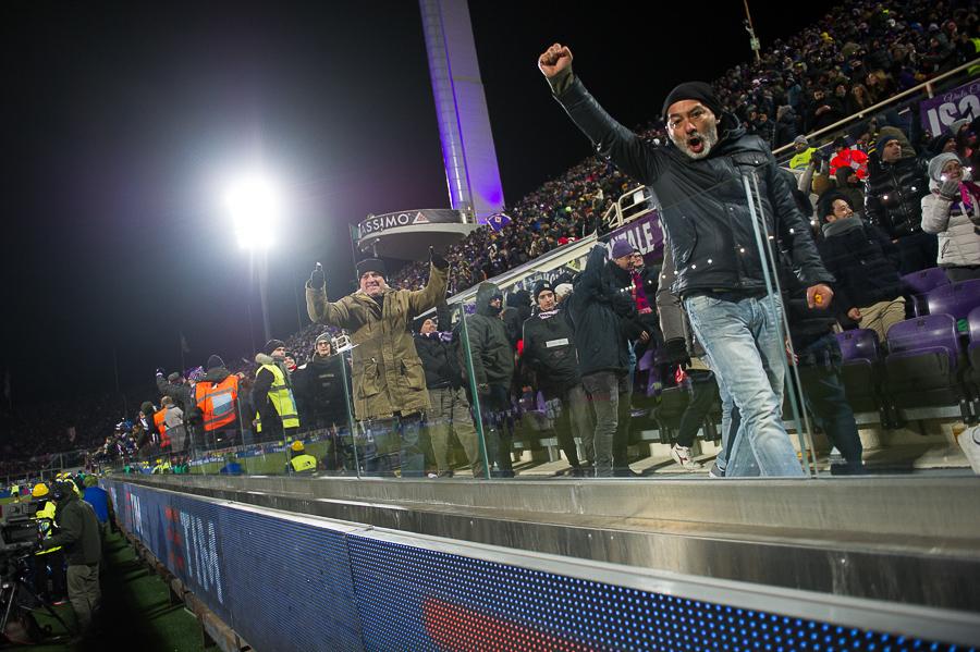Firenze, stadio Artemio Franchi, 15.01.2017, Fiorentina-Juventus, Foto Fiorenzo Sernacchioli.