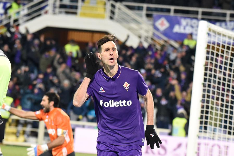 Kalinic e Bernardeschi insieme hanno segnato la metà dei gol fatti dalla Fiorentina