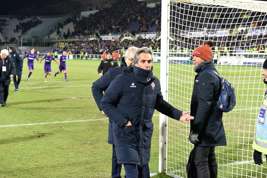 Firenze, stadio Artemio Franchi, 15.01.2017, Fiorentina-Juventus, Foto Fiorenzo Sernacchioli. Copyright Labaroviola.com