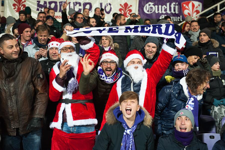 Babbo Natale confessa: sei tifoso viola! Un augurio speciale a tutti i nostri lettori…