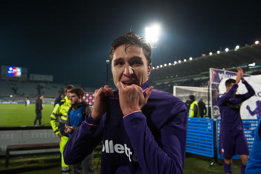 """Chiesa: """"Sono pazzo di Fiorentina. Voglio restare qui a vita. Il merito è quasi tutto di Sousa"""""""