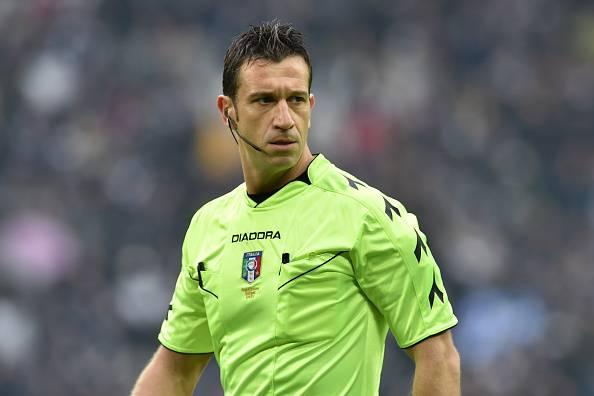Coppa Italia, ci sarà Doveri ad arbitrare contro il Napoli. Per lui due precedenti…