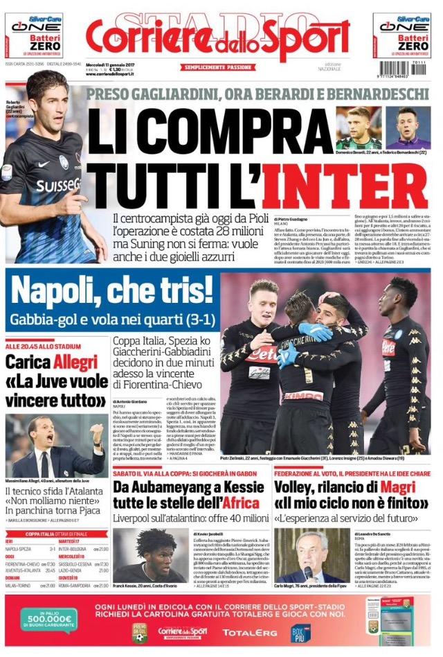 Corriere Dello Sport 11/01