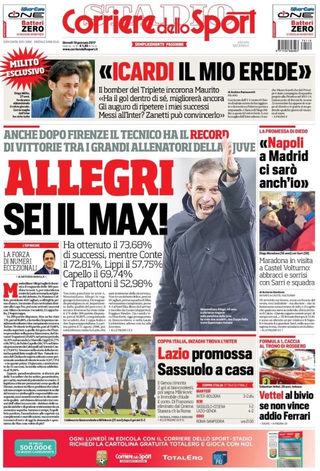 Corriere Dello Sport 19 Gennaio 2017