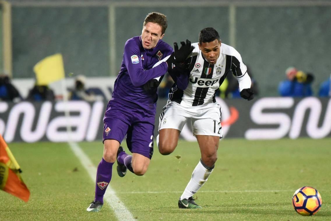 Juventus Fiorentina. Allegri carica l'ambiente e apre a Bernardeschi