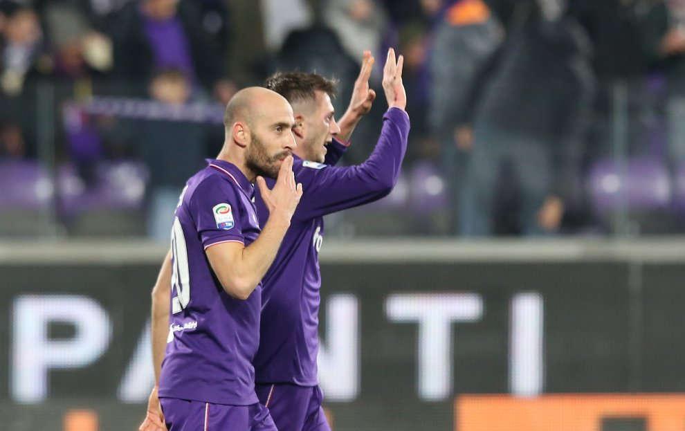 Tornano Bernardeschi e Borja Valero e torna la luce sulla Fiorentina