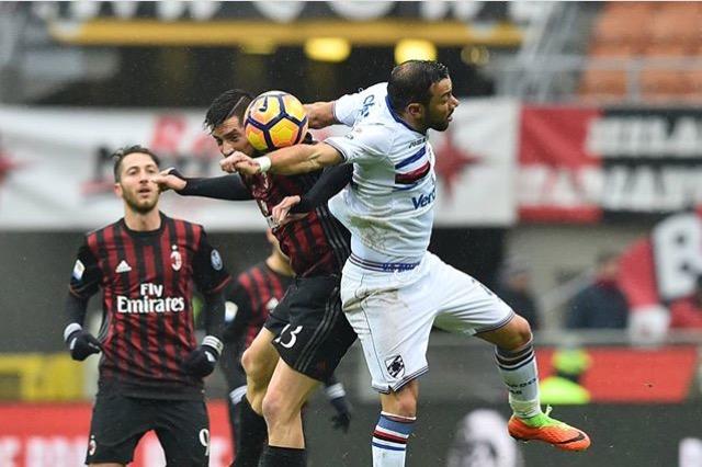 La Samp batte il Milan, Muriel beffa il suo ex allenatore su calcio di rigore…
